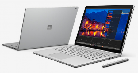 Microsoft перенесли дату выхода Surface Book 2